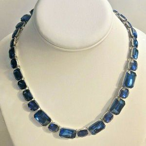 """Charter Club Blue Stone All-Around Necklace 17"""""""